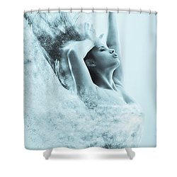 Vanishing  Shower Curtain by Scott Meyer