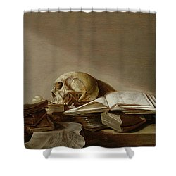 Vanitas Shower Curtain by Jan Davidsz de Heem