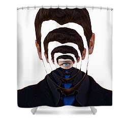 Vanity And Pride Shower Curtain