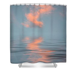 Vapor 2 Shower Curtain by Jerry McElroy