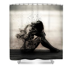 Vapours Of Sadness Shower Curtain