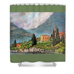 Varenna Italy Shower Curtain
