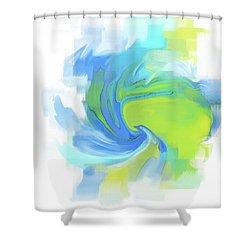 Variation 3 Shower Curtain