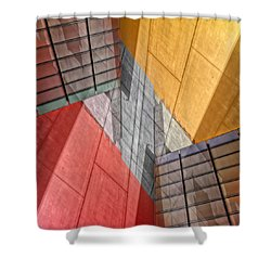 Variation On A Theme Shower Curtain by Wayne Sherriff