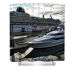 Carnival Ship Shower Curtains Page Of Pixels - Cruise ship shower