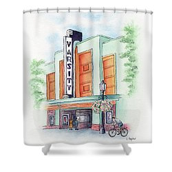 Varsity On Main Shower Curtain