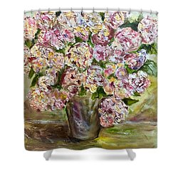 Vase Of Flowers Shower Curtain