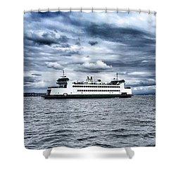 Vashon Island Ferry Shower Curtain