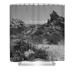 Shower Curtain featuring the photograph Vasquez Rocks by Ivete Basso Photography
