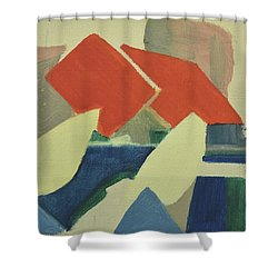 Vastkusten, West Coast,hamburgsund 1985_1249 Up To 120 X 90 Cm Shower Curtain