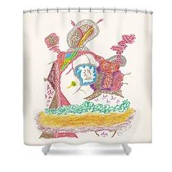 Vedauwoo Shaman Shower Curtain