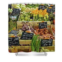 Veg At Marche Provencal Shower Curtain