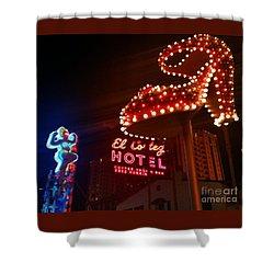 Vegas Neon Shower Curtain