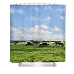 Vegetation Shower Curtain