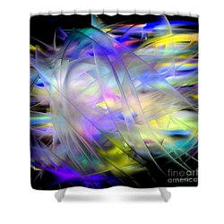 Veils Of Color Shower Curtain