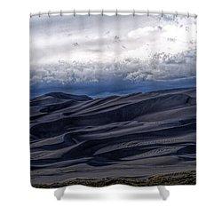 Velvet At Night Shower Curtain