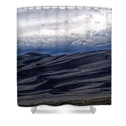 Velvet At Night Shower Curtain by Alana Thrower