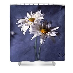 Velvet Daisies Shower Curtain by Jack Eadon