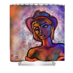 Velvet Squeeze Shower Curtain