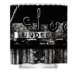 Velvet Underground Shower Curtain