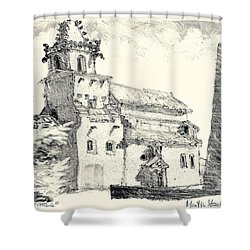 Venasque Provence Shower Curtain