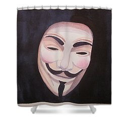 Vendetta Shower Curtain