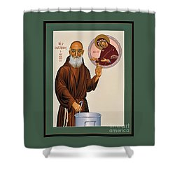 Venerable Fr. Solanus Casey The Healer 038 Shower Curtain