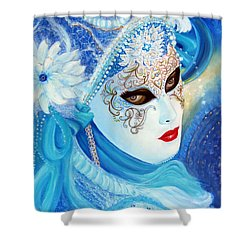 Venetian Carnival Mask 2015 Shower Curtain