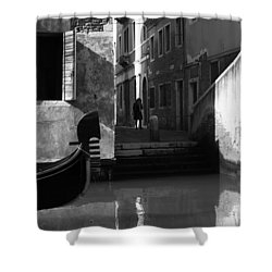 Shower Curtain featuring the photograph Venetian Daily Life by Yuri Santin