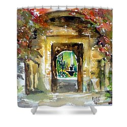 Venetian Gardens Shower Curtain