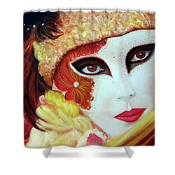 Venetian Glow Shower Curtain