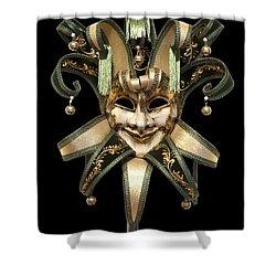 Venetian Mask Shower Curtain