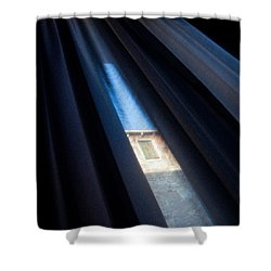 Venetian Square Shower Curtain by Dave Bowman
