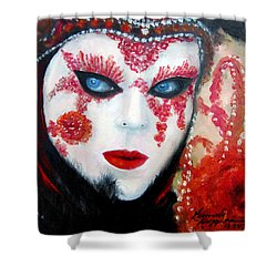 Venetian Tigress Shower Curtain