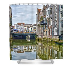 Venetian Vibe In Dordrecht Shower Curtain