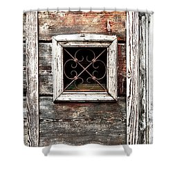 Venetian Window Shower Curtain