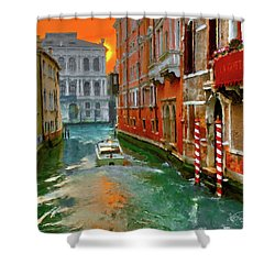 Venezia. Ca'gottardi Shower Curtain