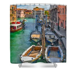 Venezia. Cannaregio Shower Curtain