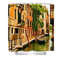 Venice Alley Shower Curtain