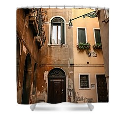 Venice Angles Shower Curtain