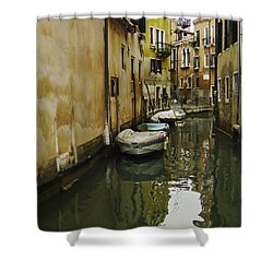 Venice Backroad Shower Curtain