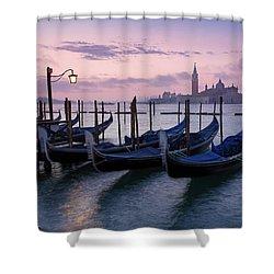 Shower Curtain featuring the photograph Venice Dawn II by Brian Jannsen