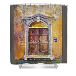 Venice Door Shower Curtain