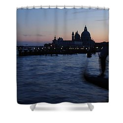 Venice Dusk Shower Curtain