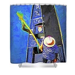 Venice Gondola Series #4 Shower Curtain