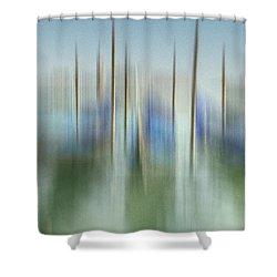 Venice Gondolas Impression 1 Shower Curtain by Marty Garland