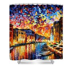 Venice - Grand Canal Shower Curtain