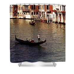 Venice Shower Curtain by Helga Novelli