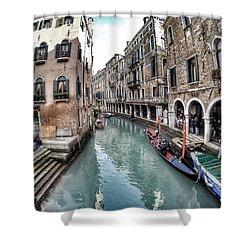 Venice In Wonderland Shower Curtain