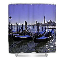 Venice Is A Magical Place Shower Curtain